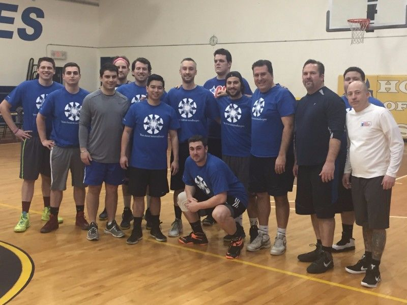 AmeriSource Bergen employees who sponsored and participated in our Annual Basketball Tournament.